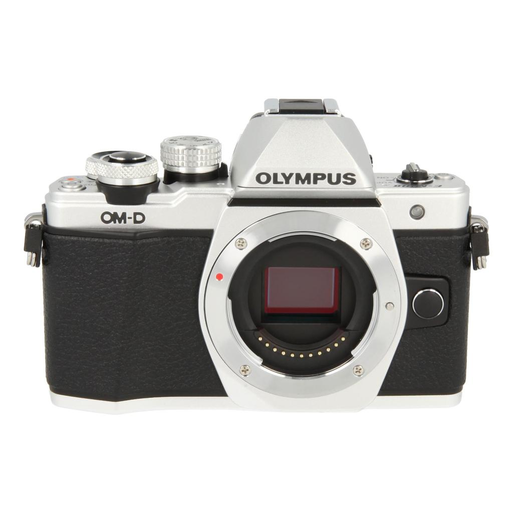 Olympus OM-D E-M10 Mark II argent - Comme neuf