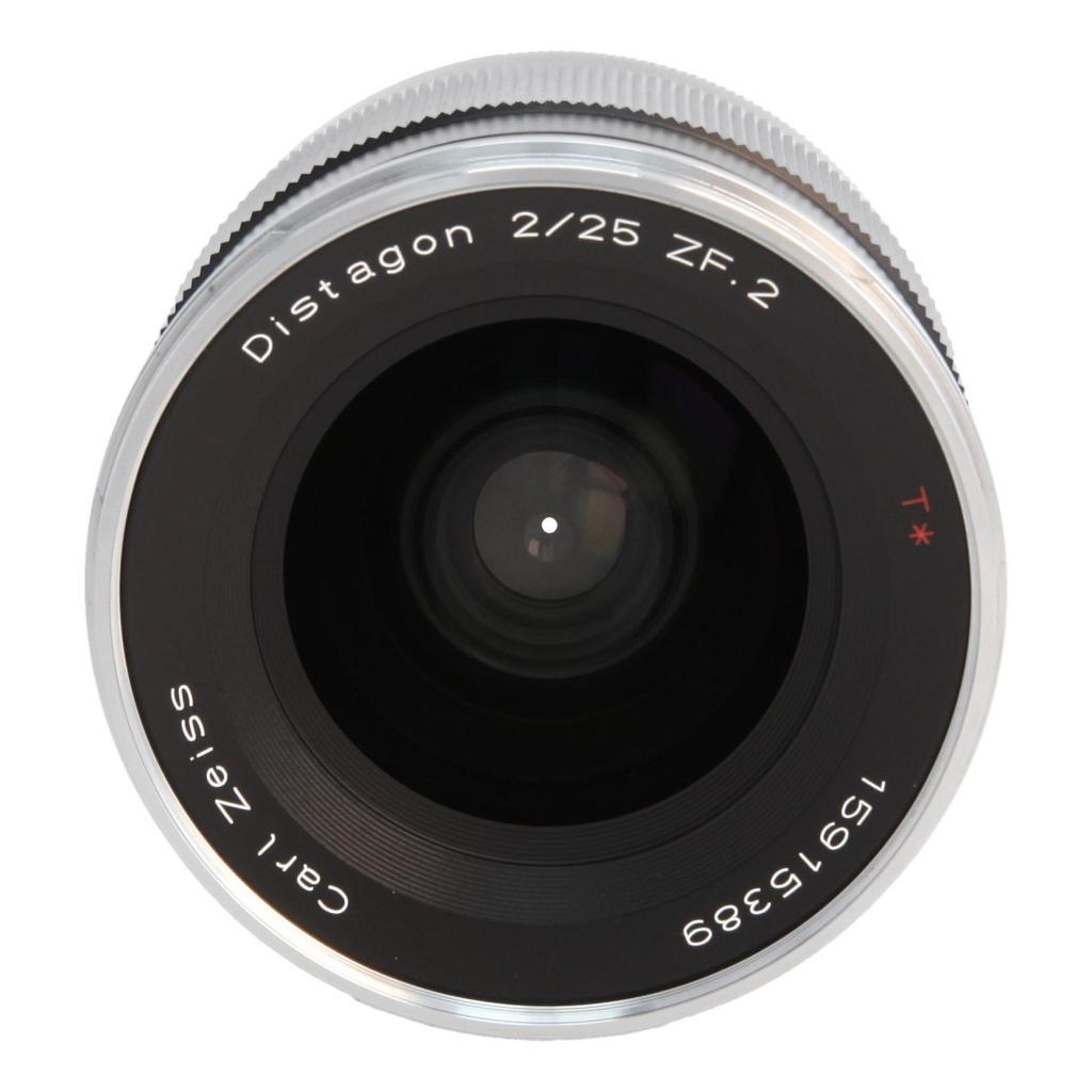 Zeiss Distagon T* 2.8/25 ZF.2 mit Nikon F Mount Schwarz - neu