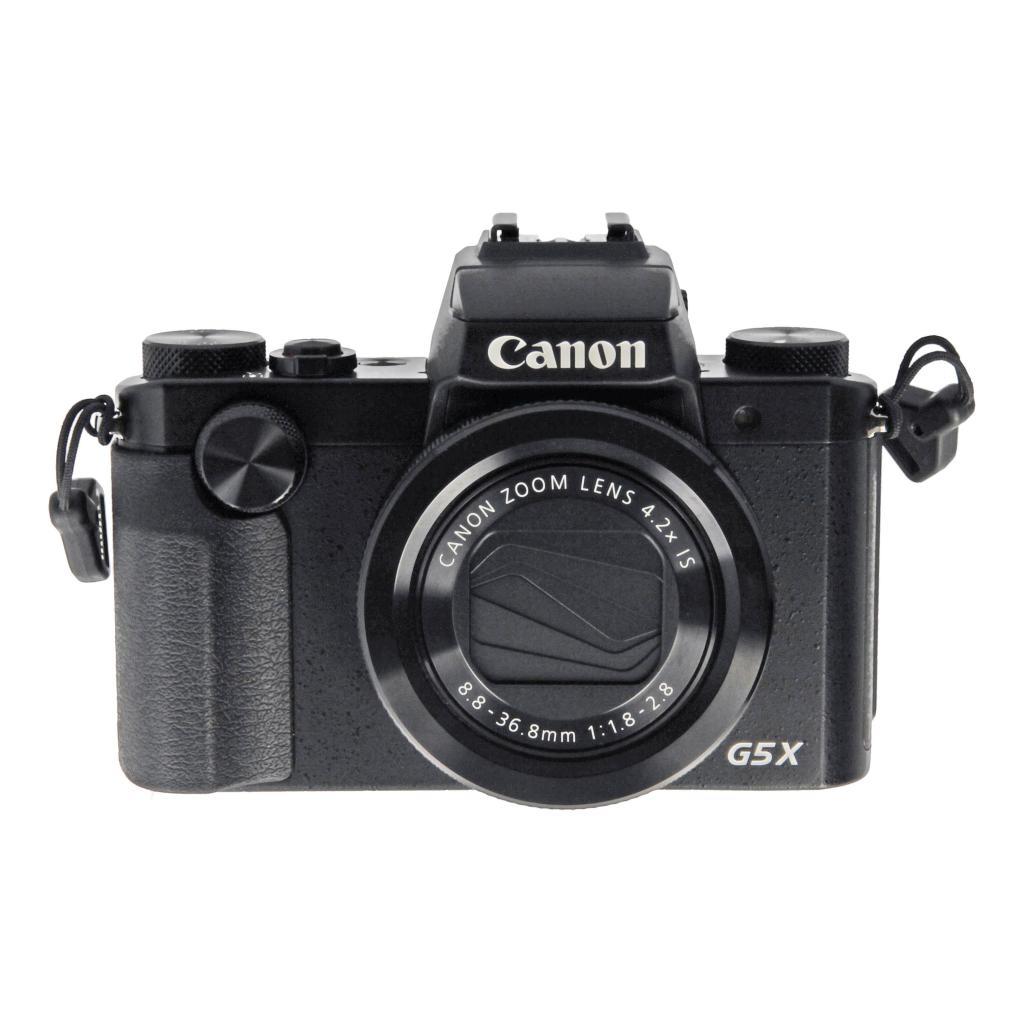 Canon PowerShot G5 X Schwarz - neu