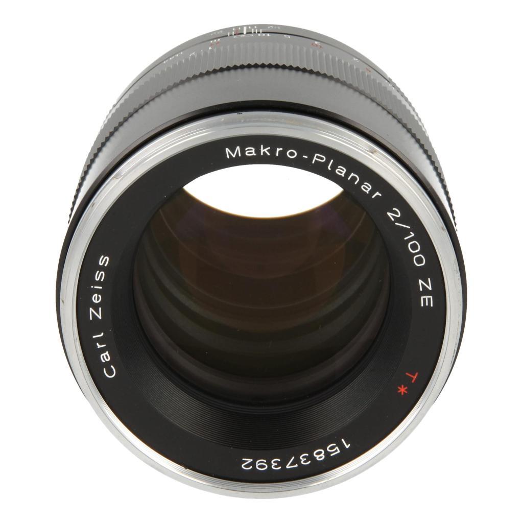 Zeiss Makro-Planar T* 2/100 mit Canon EF Mount Schwarz - neu