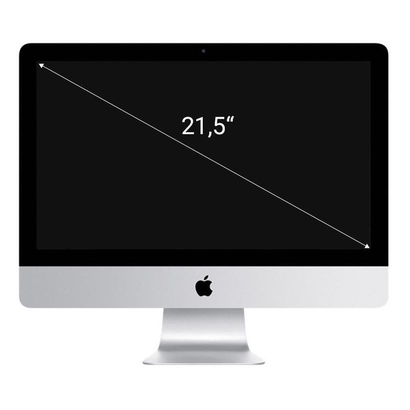 """Apple iMac 21,5"""" Zoll 4k Retina Display, (2015) Intel Core i5 3,10 GHz 1000 GB HDD 8 GB silber - neu"""