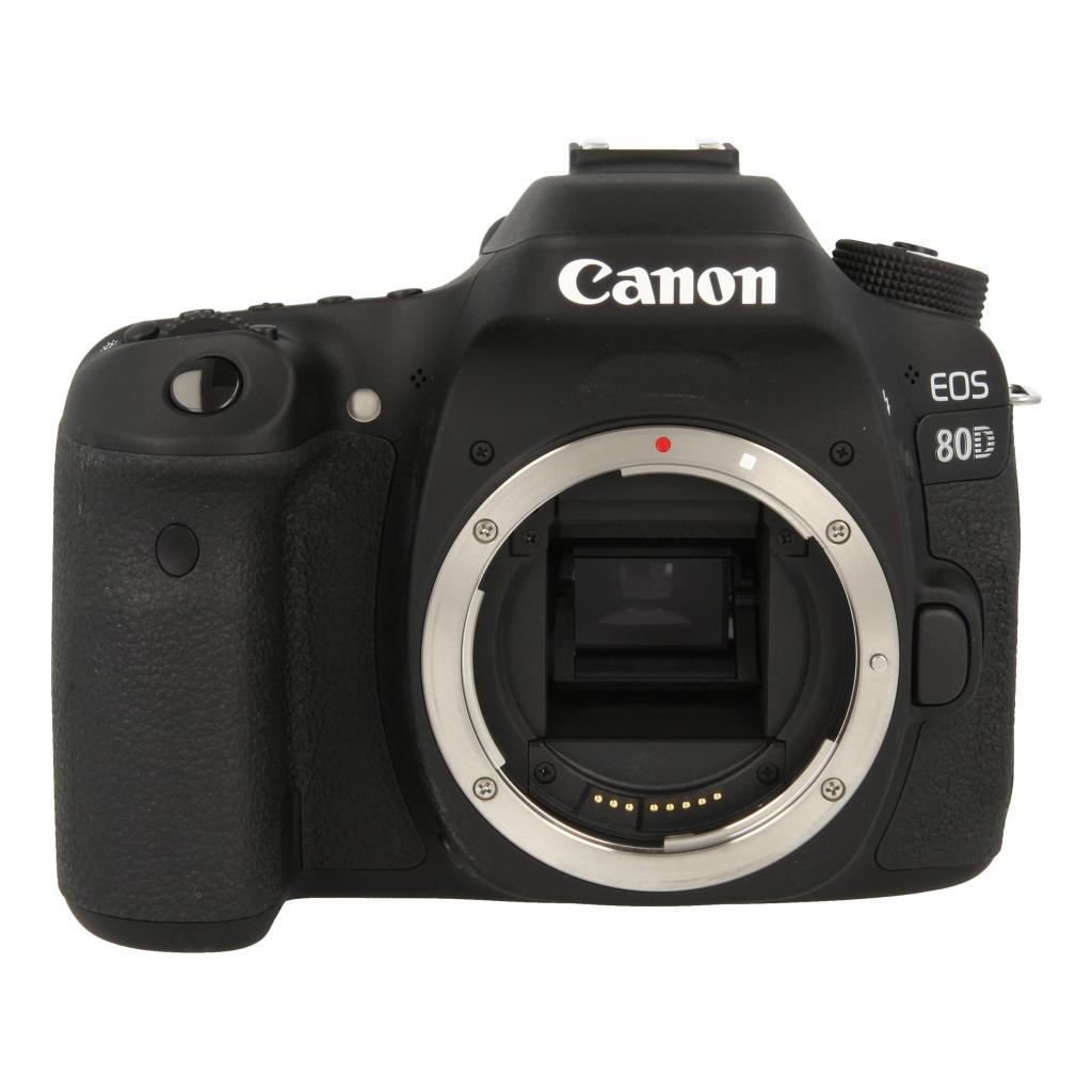 Canon EOS 80D Schwarz - neu