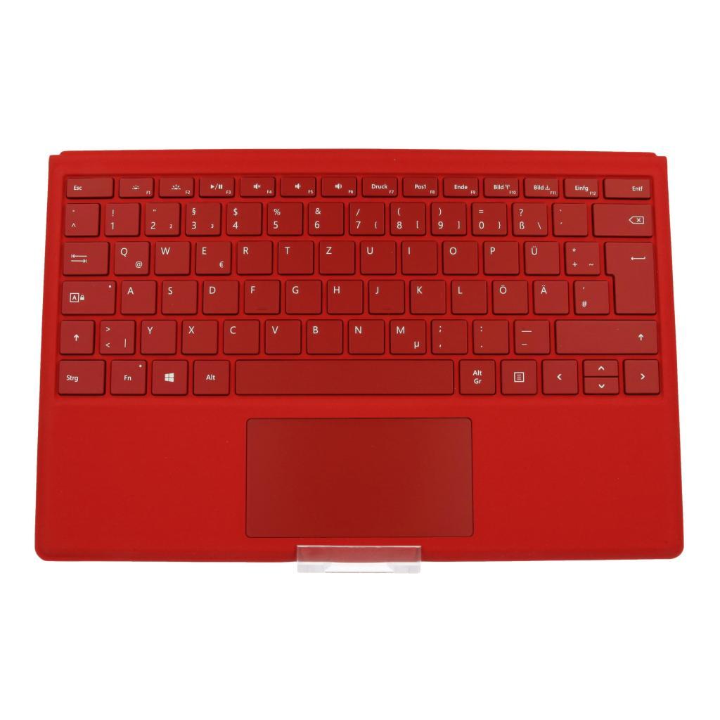 Microsoft Surface Pro 4 Type Cover (A1725) Rot - QWERTZ - neu