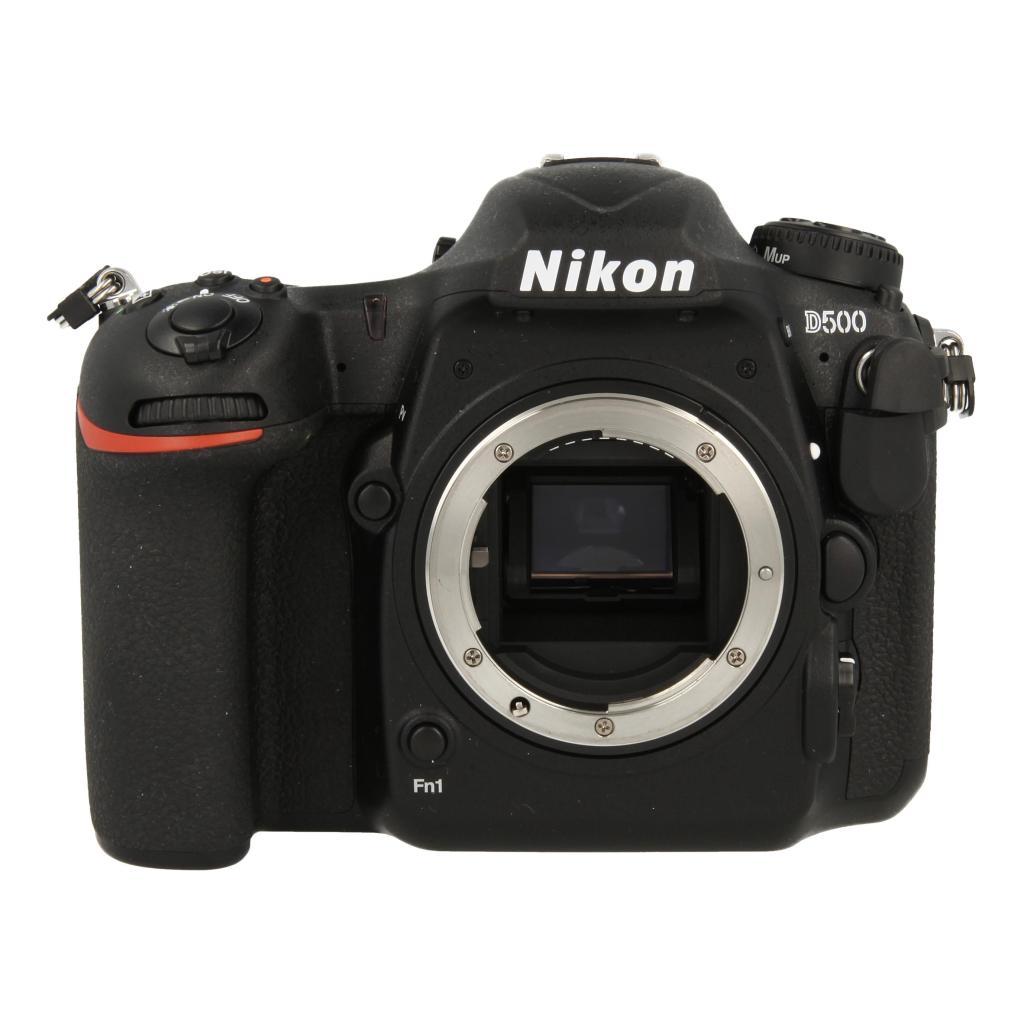 Nikon D500 negro - nuevo