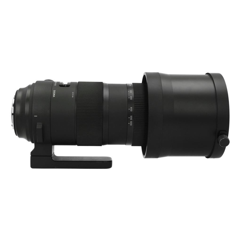Sigma 150-600mm 1:5-6.3 DG OS HSM Sports für Canon Schwarz - neu