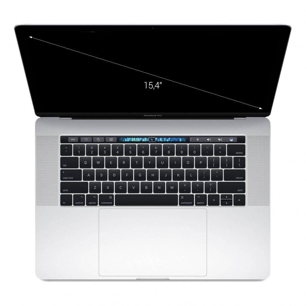 "Apple MacBook Pro 2016 15"" (QWERTZ) Touch Bar Intel Core i7 2,70GHz 512Go SSD 16Go argent - Neuf"