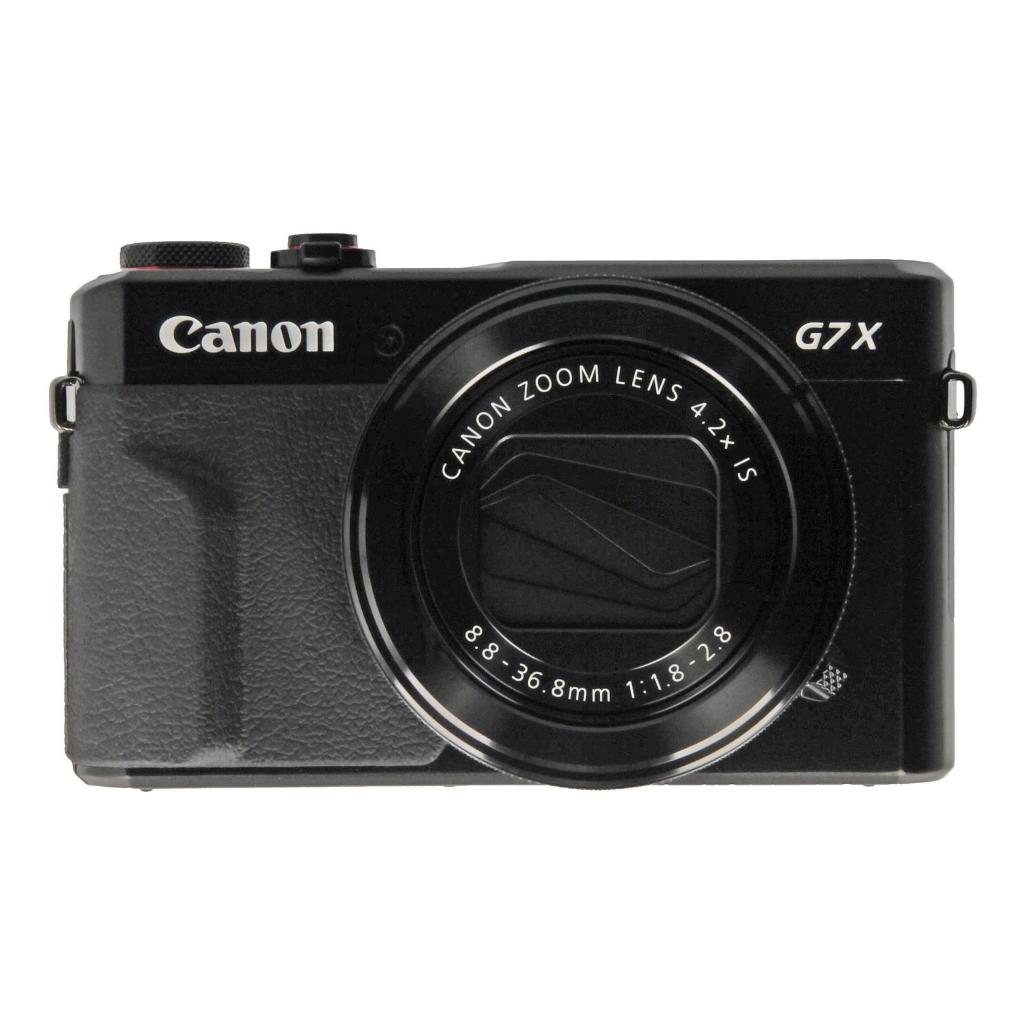 Canon PowerShot G7X Mark II negro - buen estado