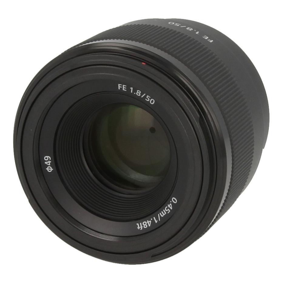 Sony 50mm 1:1.8 FE (SEL-50F18F) Schwarz - neu