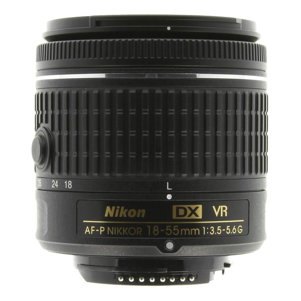 Nikon AF-P Nikkor 18-55mm 1:3.5-5.6G DX VR Schwarz - neu