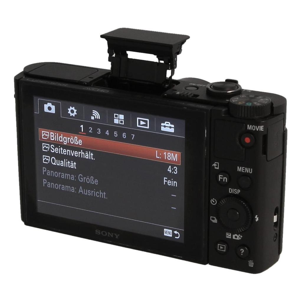 Sony Cyber-shot DSC-HX80 Schwarz - neu