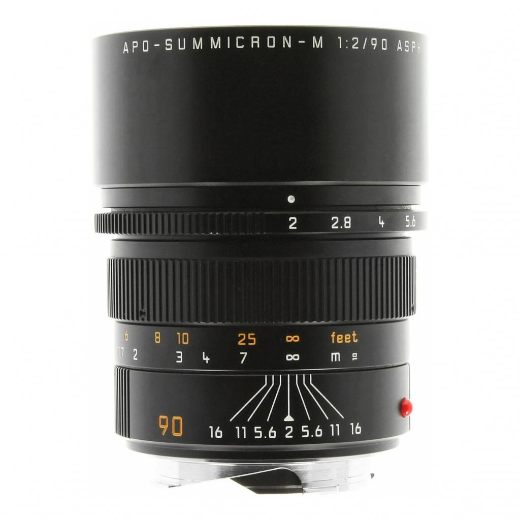 Leica 90mm 1:2.0 SUMMICRON-M APO ASPH negro - nuevo