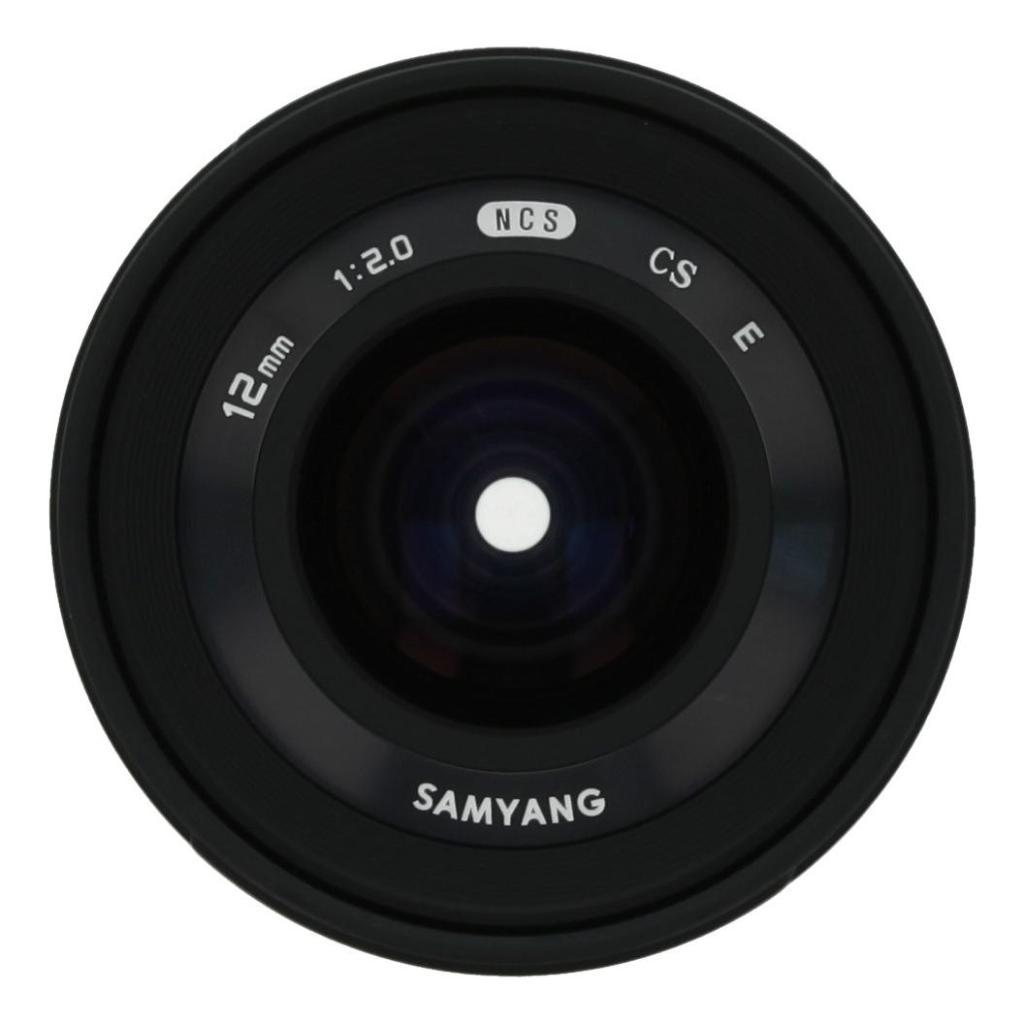 Samyang 12mm 1:2.0 NCS CS für Sony E Schwarz - neu