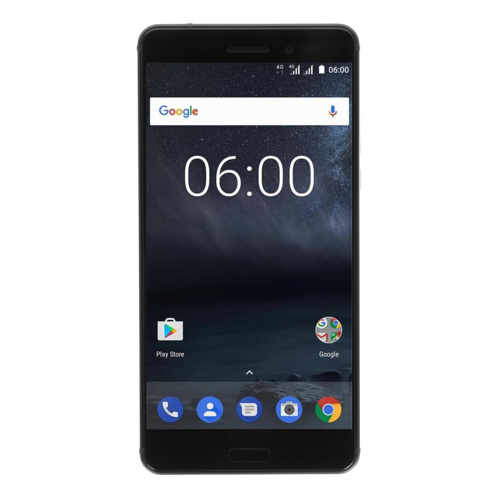 Nokia 6 Dual-Sim 32Go noir - Neuf