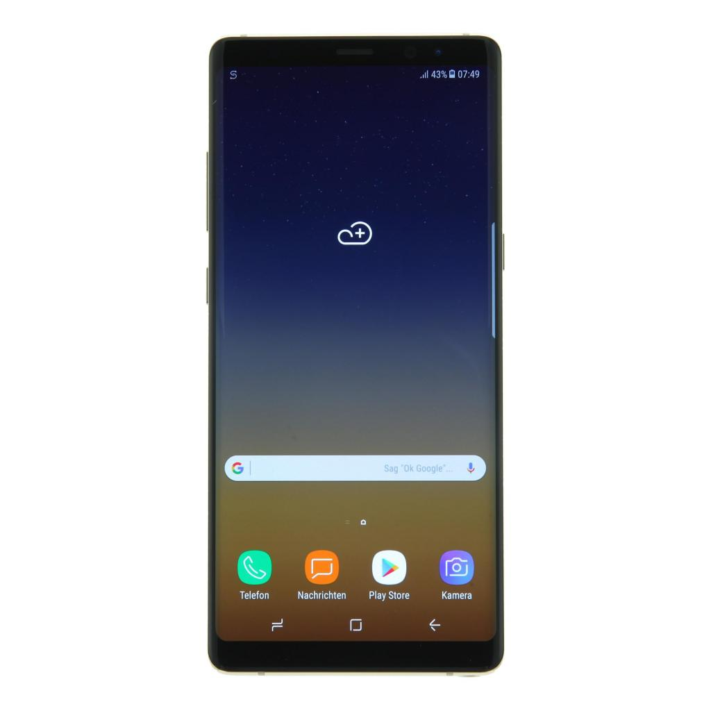 Samsung Galaxy Note 8 Duos 64Go or topaze - Comme neuf