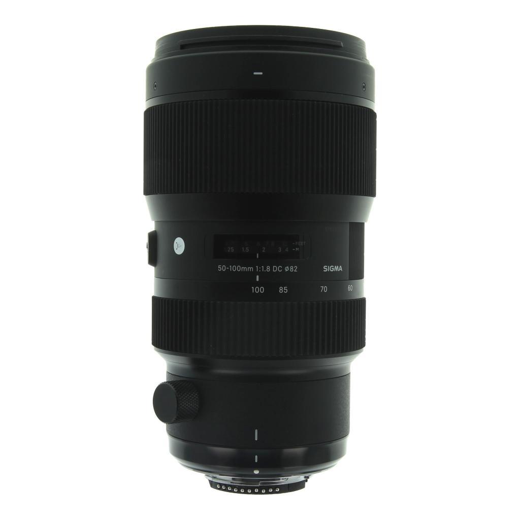 Sigma 50-100mm 1:1.8 Art AF DC HSM für Nikon schwarz - neu