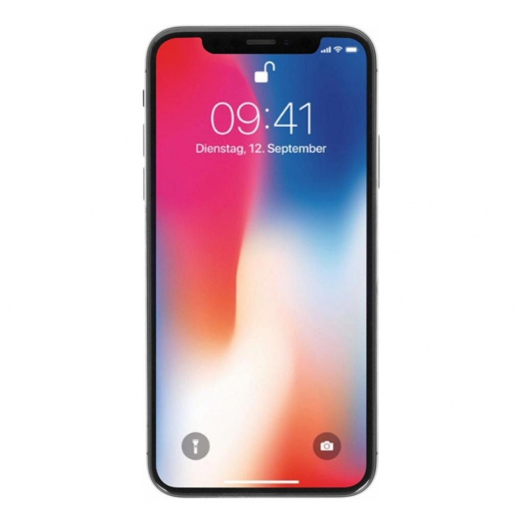 Apple iPhone X 64GB spacegrau - gut