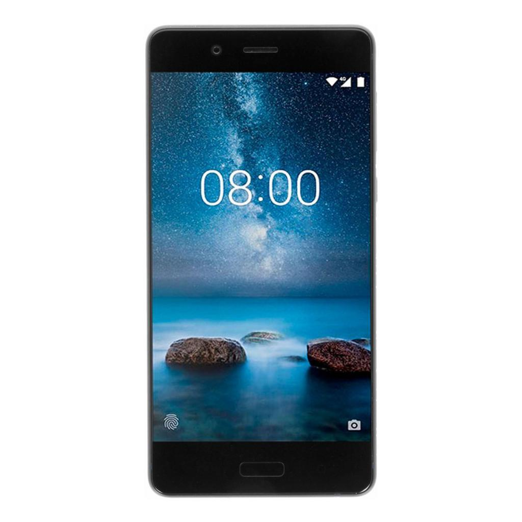 Nokia 8 Single-Sim 64GB mattblau - gut