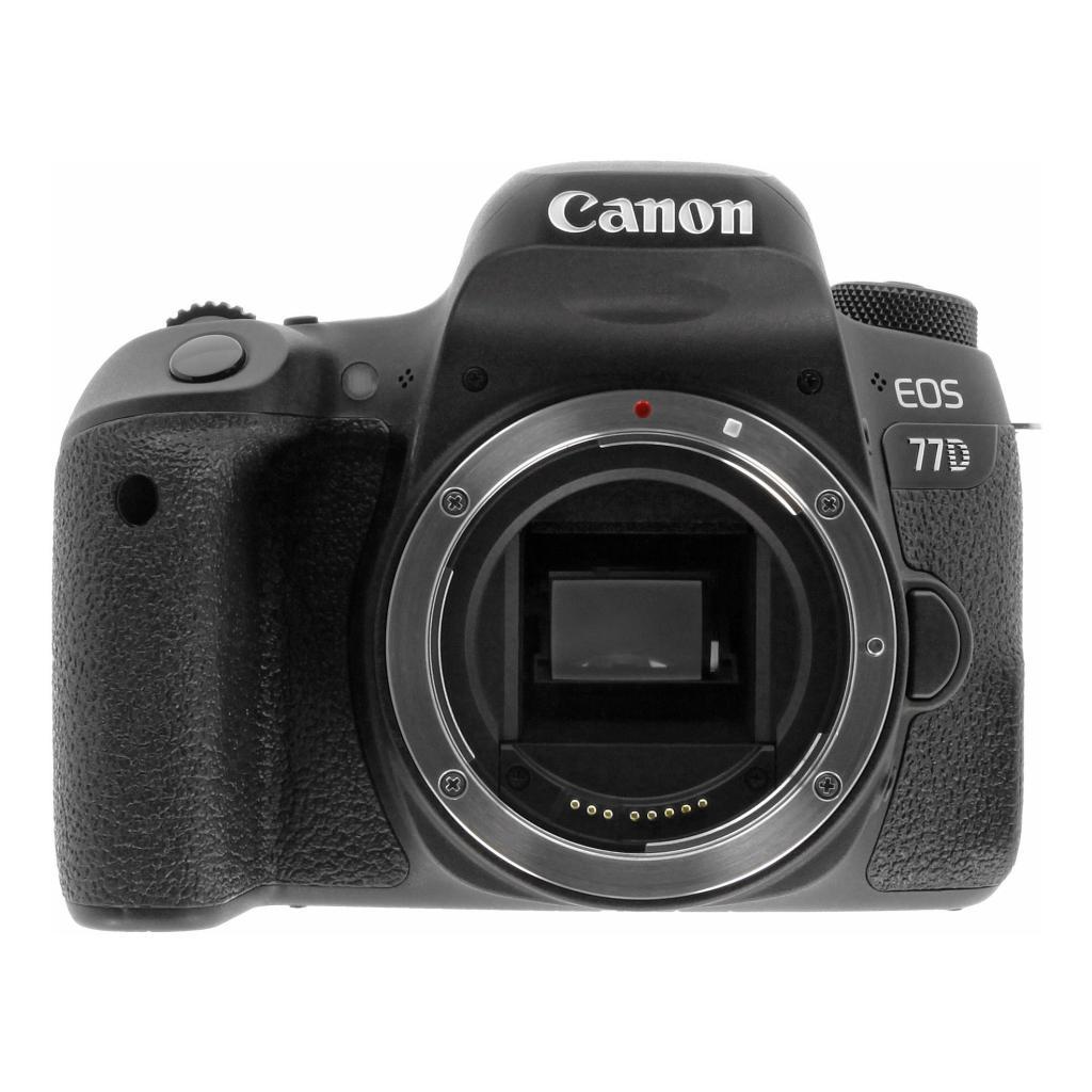 Canon EOS 77D negro - nuevo