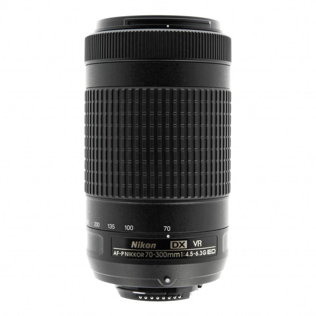 Nikon AF-P 70-300mm 1:4.5-6.3G VR DX ED negro - nuevo