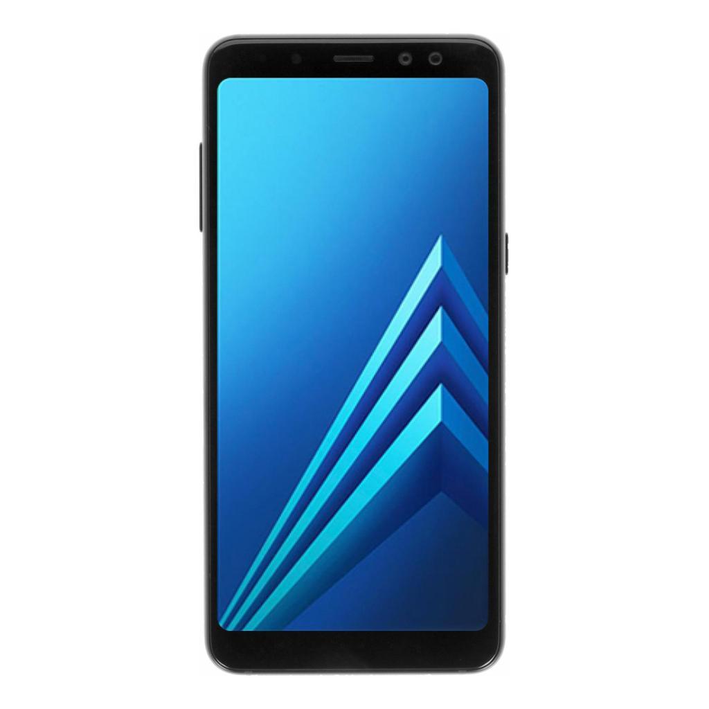 Samsung Galaxy A8 (2018) Duos (A530F/DS) 32GB negro - nuevo