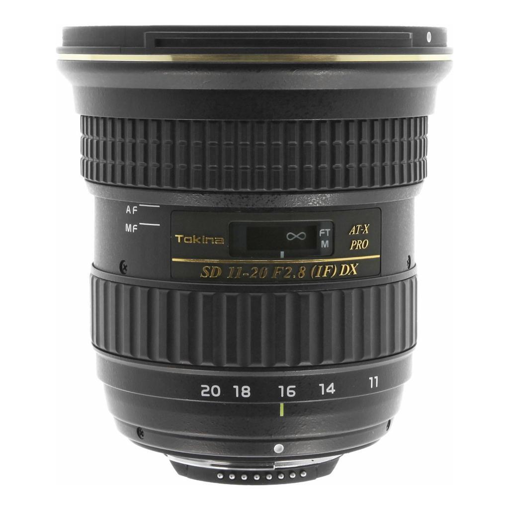 Tokina para Nikon F 11-20mm 1:2.8 AT-X Pro DX negro - nuevo