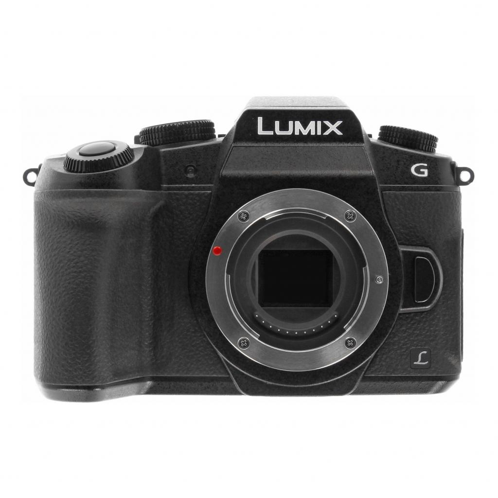 Panasonic Lumix DMC-G80 schwarz - neu