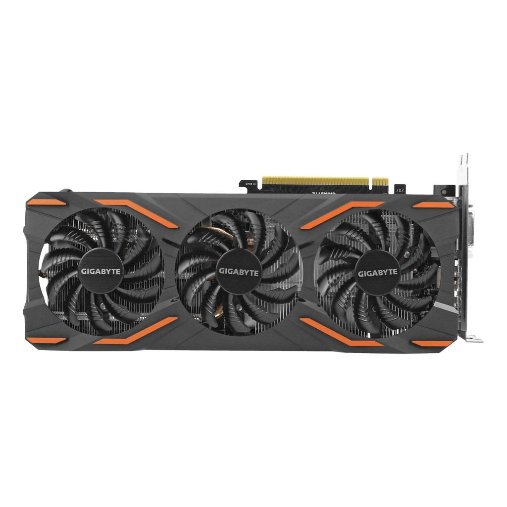 Gigabyte GeForce GTX 1080 Windforce OC 8G (GV-N1080WF3OC-8GD) schwarz - neu