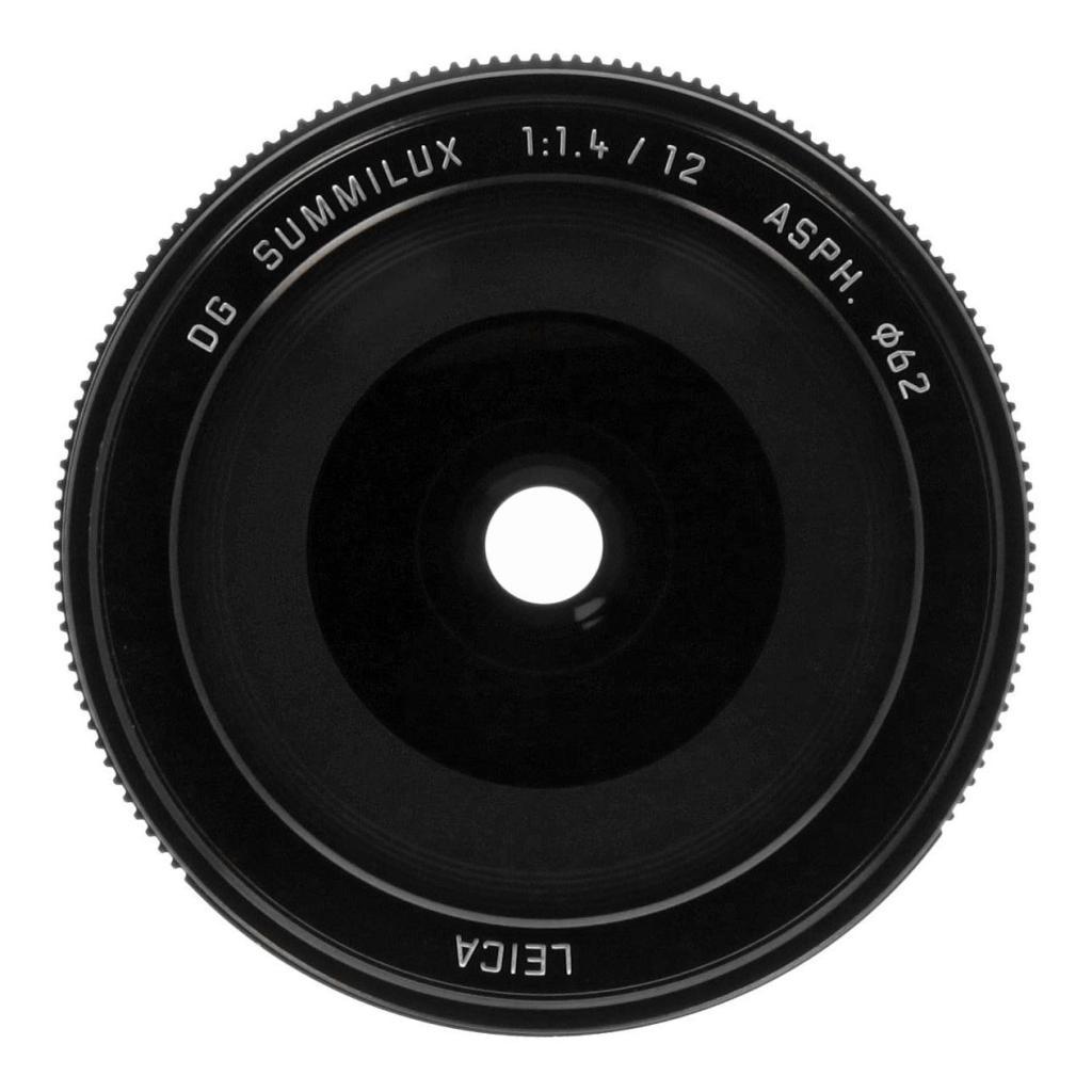 Panasonic 12mm 1:1.4 Leica DG Summilux ASPH (H-X012E) noir - Neuf