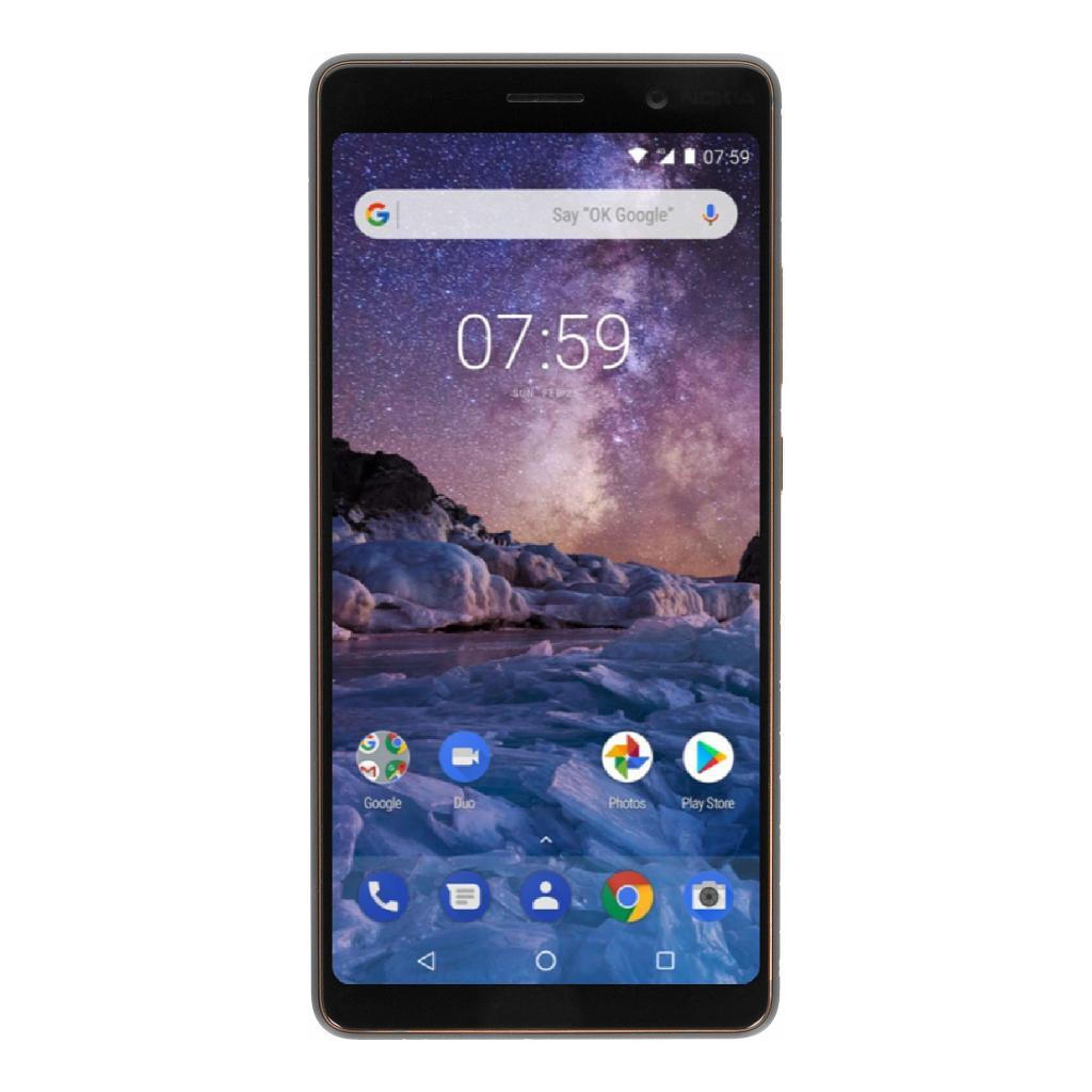 Nokia 7 Plus Dual-SIM 64GB schwarz - neu