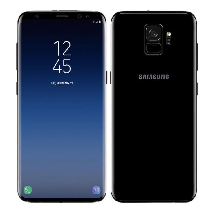 Samsung Galaxy S9 DuoS (G960F/DS) 256Go noir carbone - Neuf