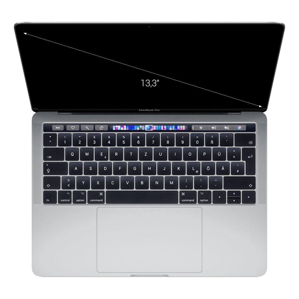 "Apple MacBook Pro 2018 13"" (QWERTY) Touch Bar/ID Intel Core i5 2,3GHz 512 GB SSD 8 GB plata - muy bueno"