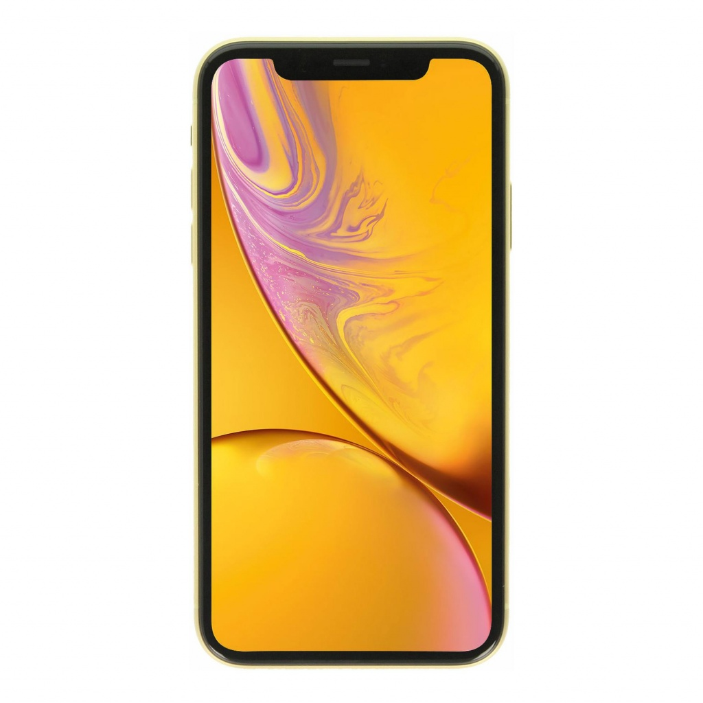Apple iPhone XR 128GB gelb - sehr gut