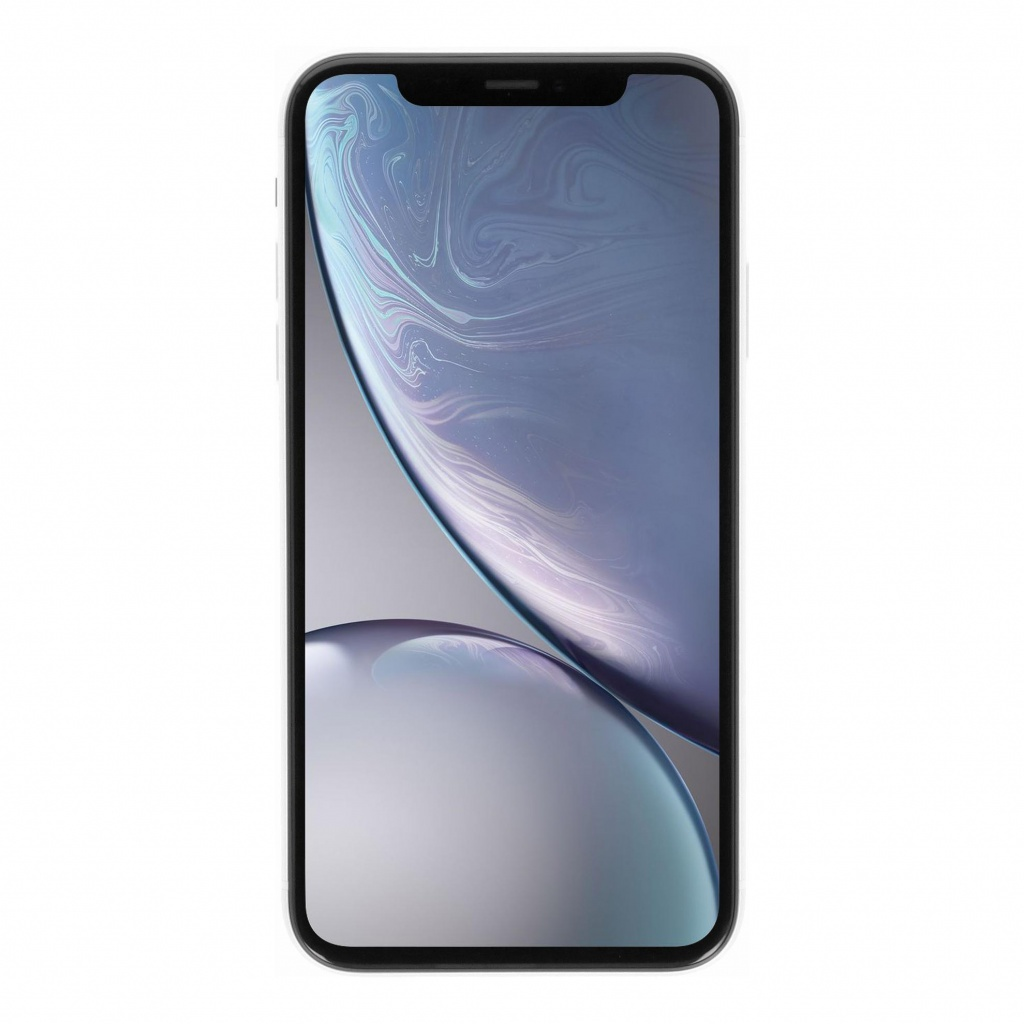 Apple iPhone XR 128GB weiss - sehr gut