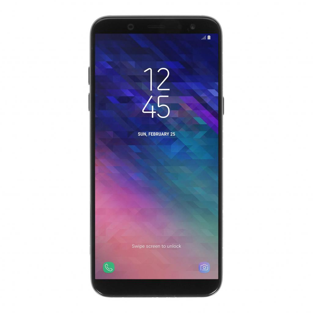Samsung Galaxy A6 (2018) 32GB negro - buen estado