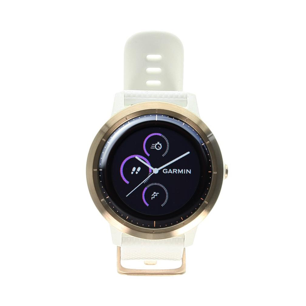 Garmin vivoactive 3 (010-01769-05) blanc et or/rose - Bon