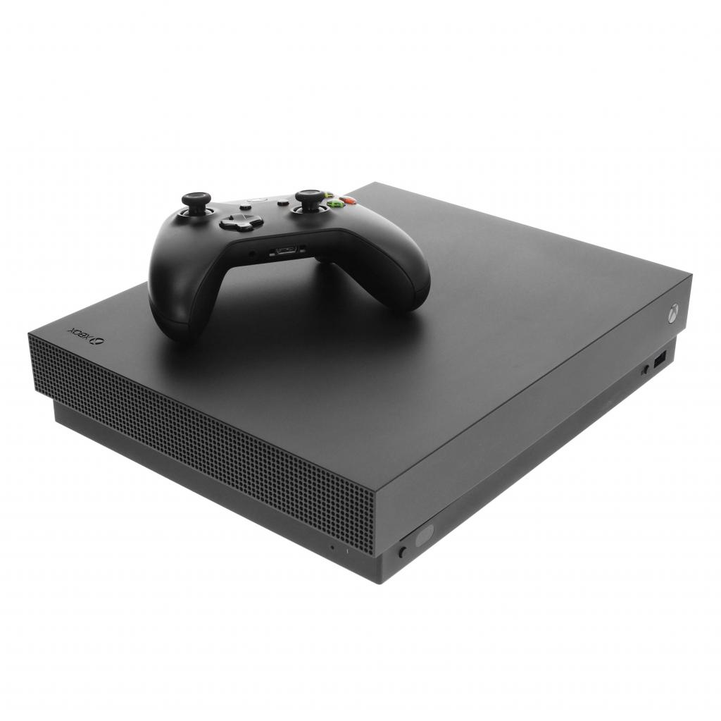 Microsoft Xbox One X - 1 To noir - Bon