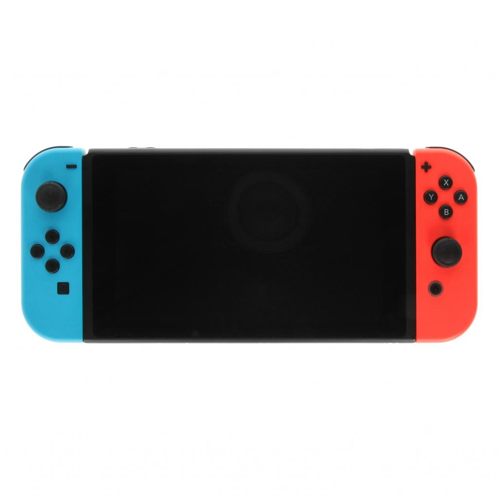 Nintendo Switch schwarz/blau/rot - gut
