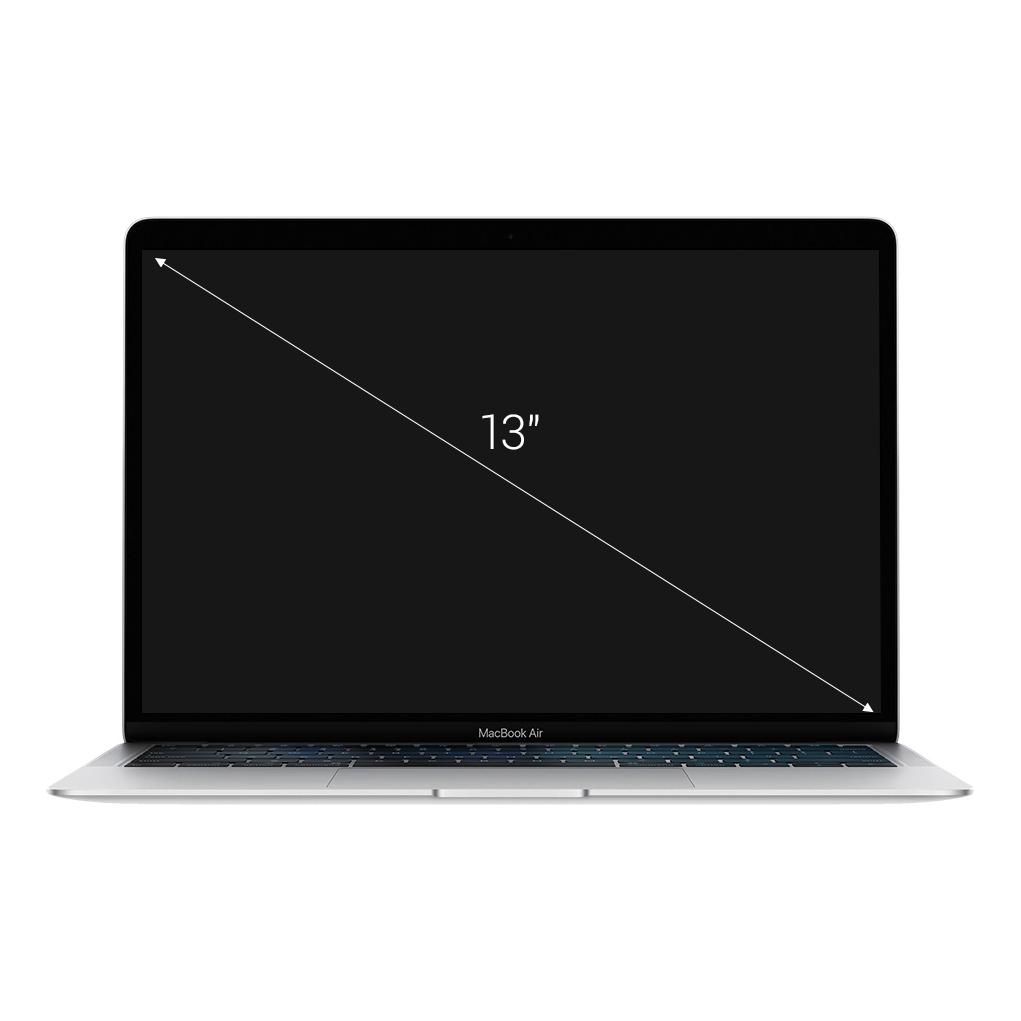 "Apple MacBook Air 2018 13"" (QWERTZ) pantalla Retina 1,6 GHz Dual-Core Intel Core i5 con 4MB de Caché N3 (Turbo Boost desde hace 3,6 GHz) 1,6 GHz 512 GB SSD 16 GB plata - muy bueno"