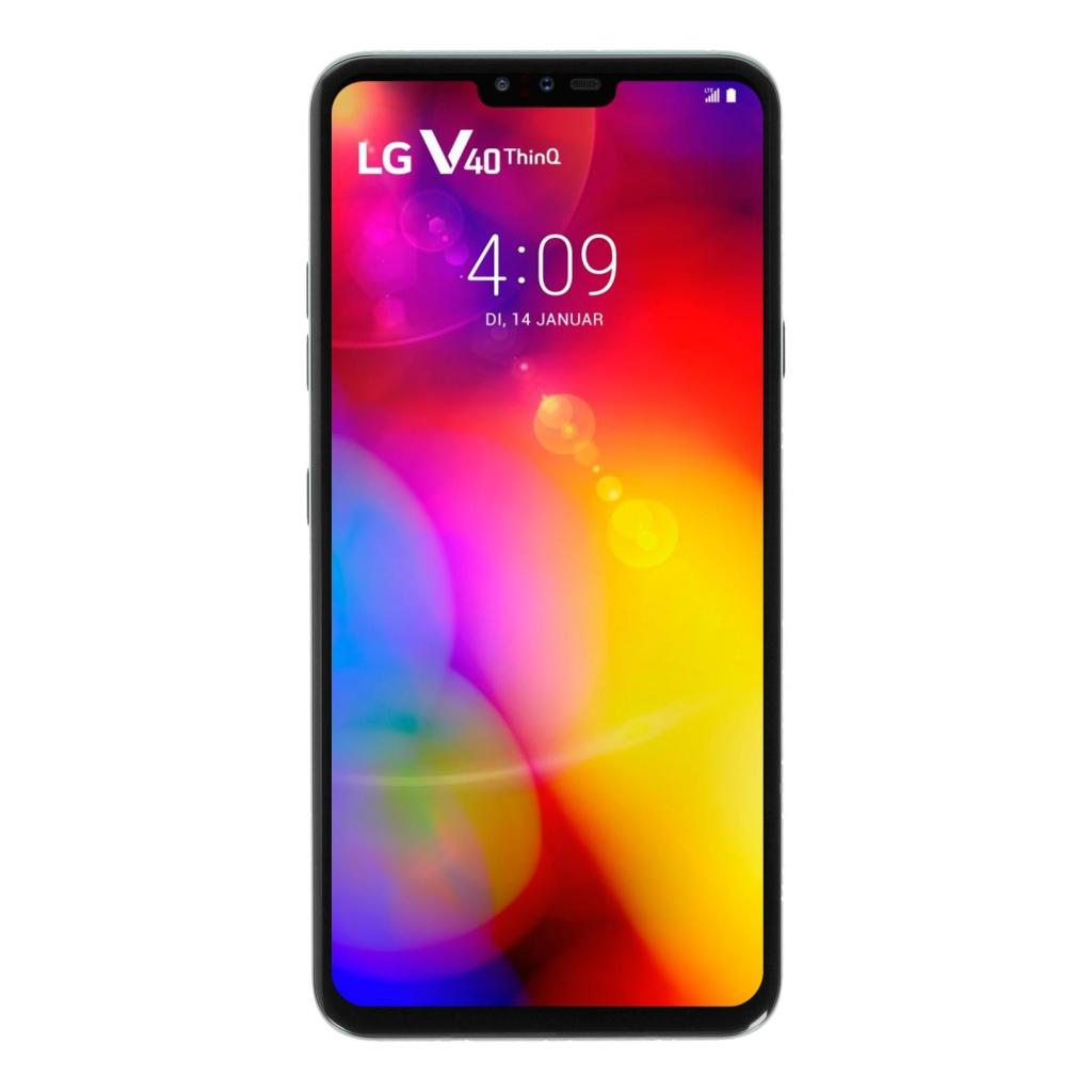 LG V40 ThinQ Dual-Sim 128GB blau - gut