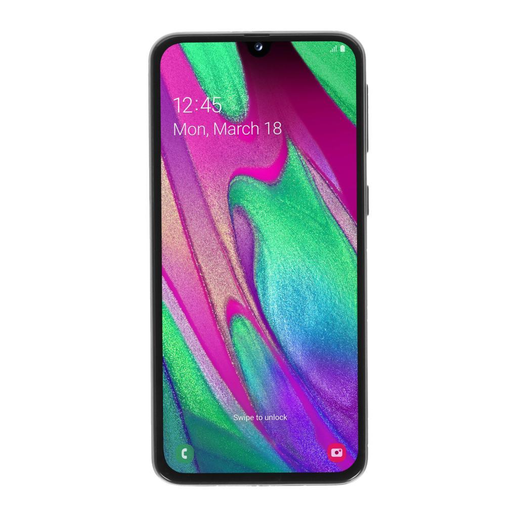 Samsung Galaxy A40 Duos (A405FN/DS) 64GB negro - nuevo