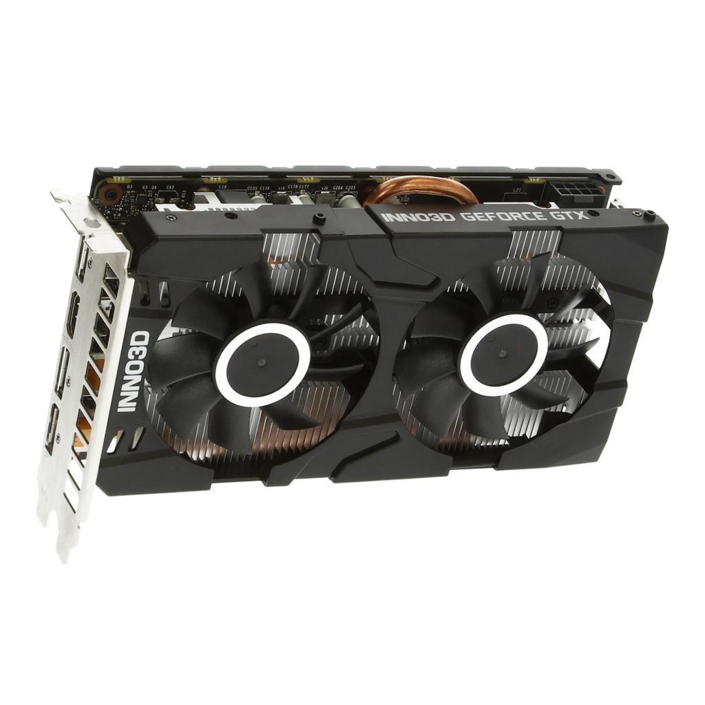 Inno3D GTX 1660 Ti Twin X2 (N166T2-06D6-1710VA15) schwarz - neu