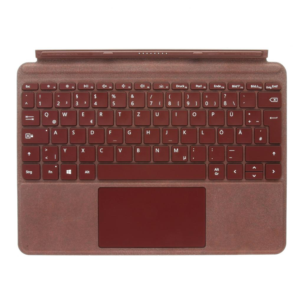 Microsoft Surface Go Signature Type Cover (1840) burgunderrot - QWERTZ - gut