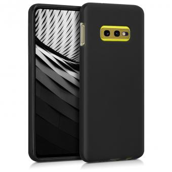 kwmobile Soft Case für Samsung Galaxy S10e (47574.47) schwarz matt - gut