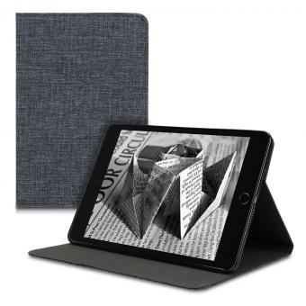 kwmobile Flip Cover für Apple iPad Mini 5 (2019) (48050.01) grau - gut