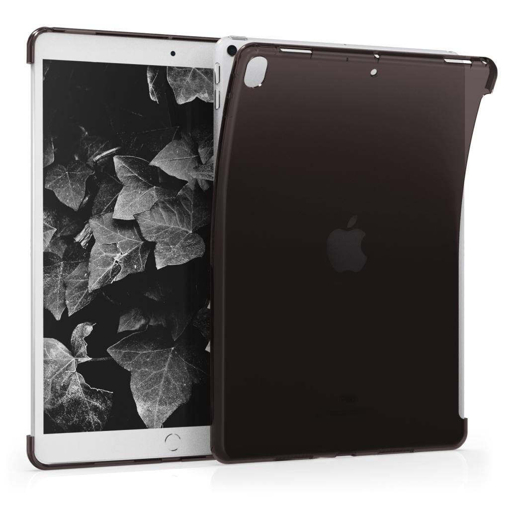 """kwmobile Soft Case für Apple iPad Pro 2017 10,5"""" / iPad Air 3 2019 10,5"""" (48337.01) schwarz/durchsichtig - neu"""