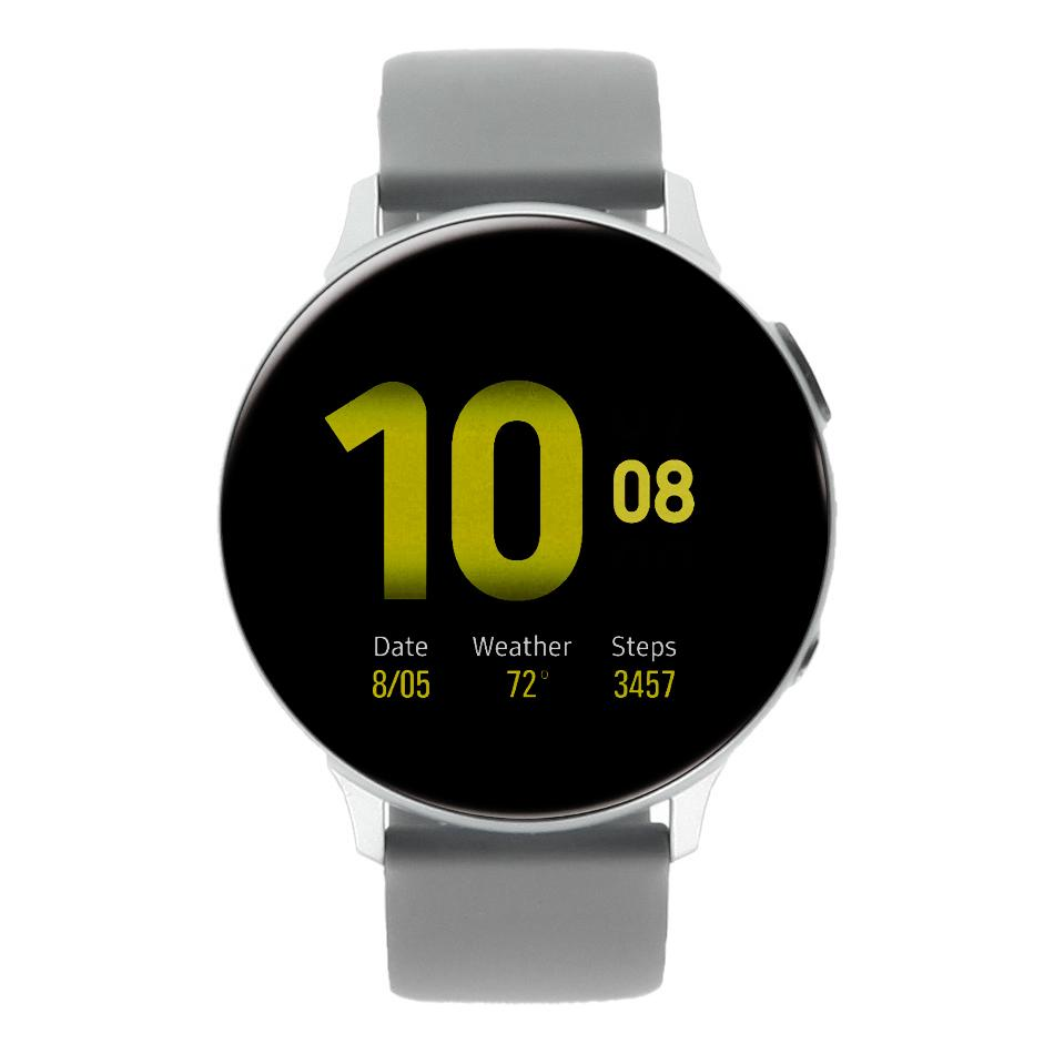 Samsung Galaxy Watch Active 2 44mm Aluminium silber - sehr gut
