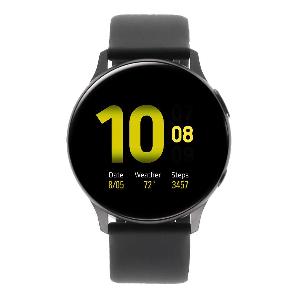 Samsung Galaxy Watch Active 2 40mm Aluminium schwarz schwarz - neu