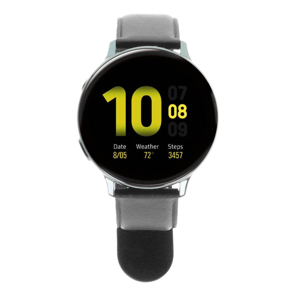 Samsung Galaxy Watch Active 2 44mm - acero inoxidable en negro - nuevo