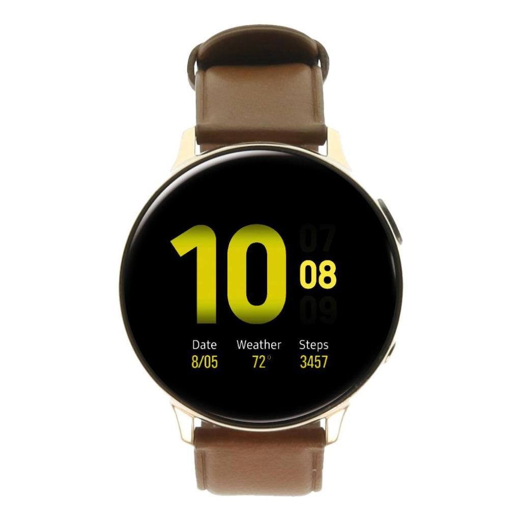Samsung Galaxy Watch Active 2 44mm Edelstahl gold gold - neu