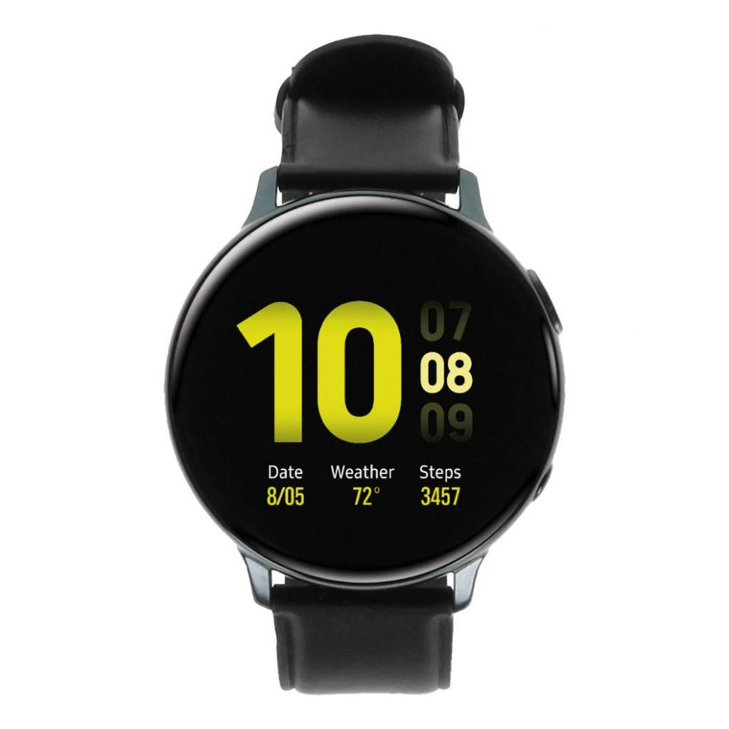 Samsung Galaxy Watch Active 2 44mm - acier inoxydable noir (LTE) - Bon